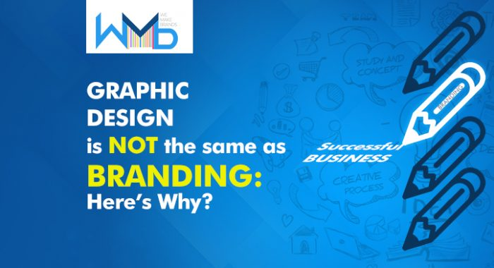 Graphic Designing is not the same as Branding: Here's why